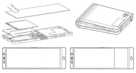 三星GalaxyX专利图