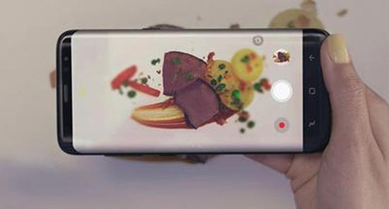 三星Bixby相机识别摄入食材卡路里展示