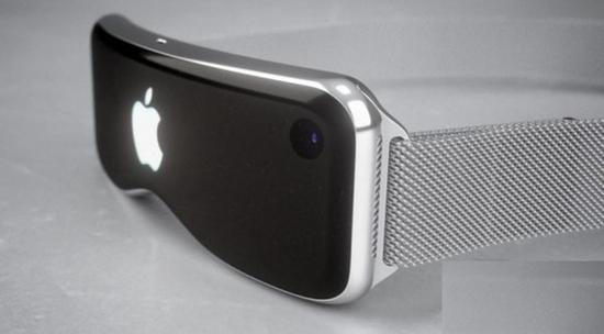 苹果AR眼镜渲染图(图源:newsweek)