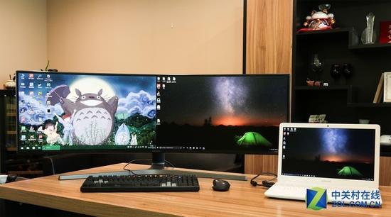 设计剪辑的办公利器 超宽屏显示器