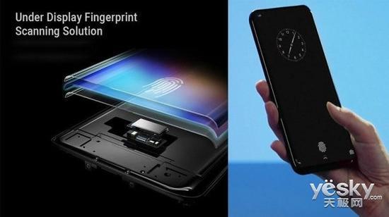 vivo屏下指纹手机首发 解锁速度很快/成功