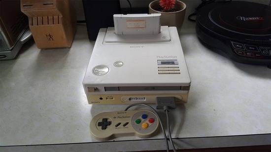 索尼+任天堂的SFC授权产品Playstation