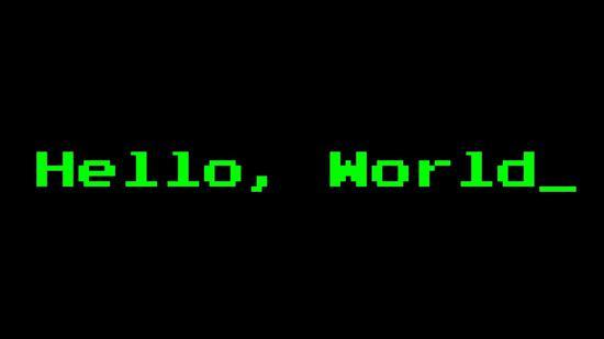 Hello World 来自: aestheticblasphemy.com