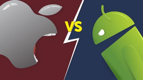 图 11 智能手机产业双雄:Google 和苹果
