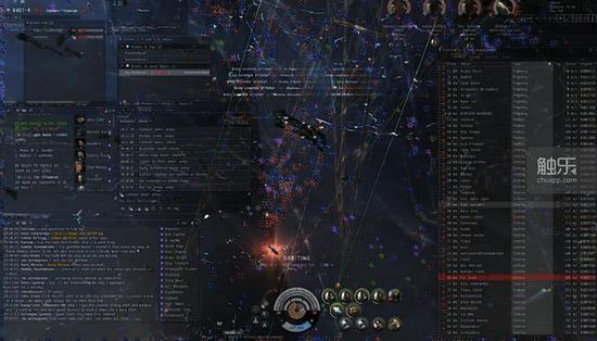 真实会战中玩家的操作界面