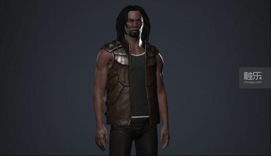 Lenny在EVE中的人物形象,大财主的品味当然是异于常人的