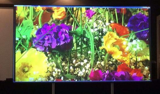 入门级激光电视标配单色激光光源和1080P分辨率