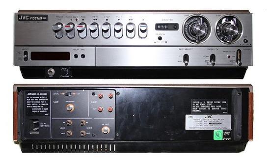 VHS录像机的鼻祖JVCHR-3300