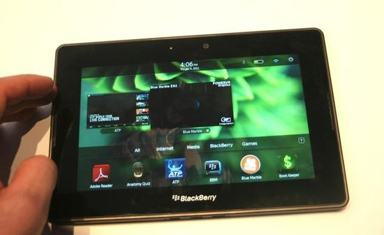 PlayBook平板电脑(图源:intomobile)