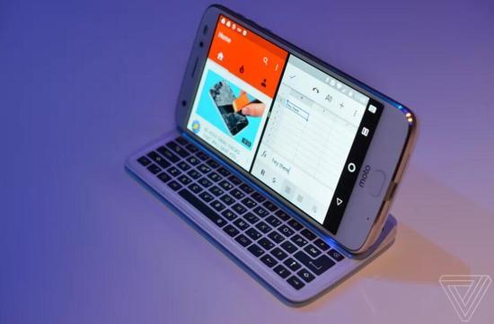 摩托罗拉推侧滑键盘Moto Mod:售价约650元