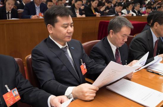 全国人大代表、苏宁集团董事长张近东 图片来源:受访者供图