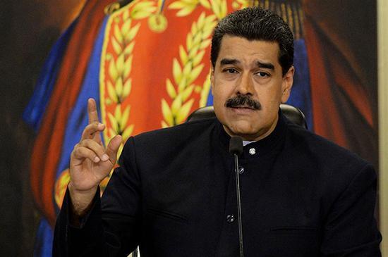 委内瑞拉总统马杜罗 视物感觉中国 资料图