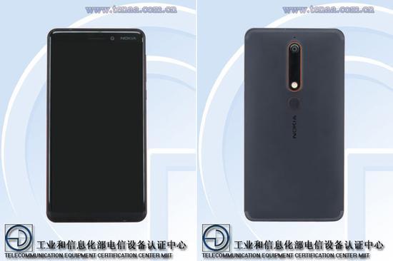 诺基亚6/Nokia 6 4GB+32GB