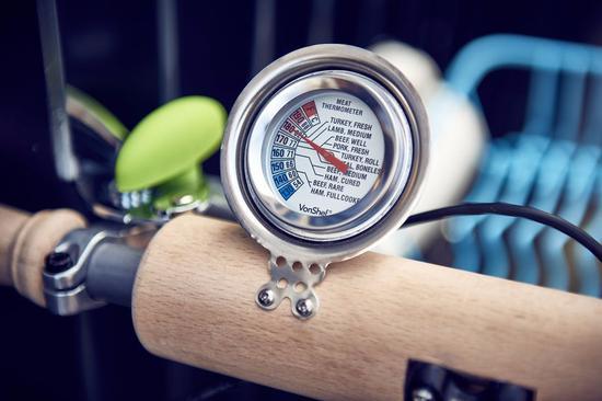 炖肉用的温度计做铃铛