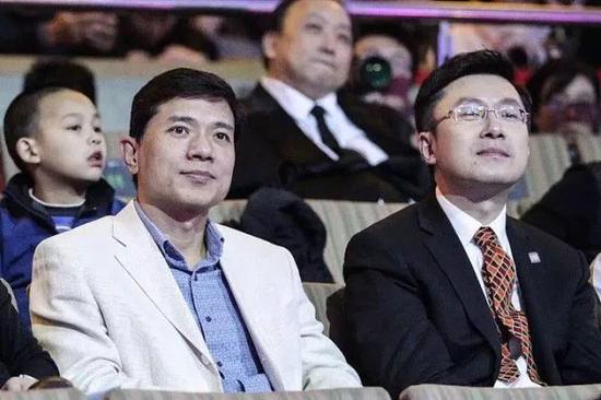 图:李彦宏和龚宇