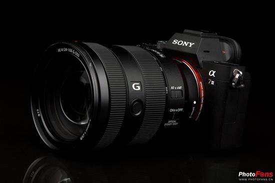 索尼全画幅微单A7M3 + FE 24-105mm F4 G OSS
