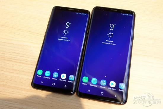 左S9;右S9+