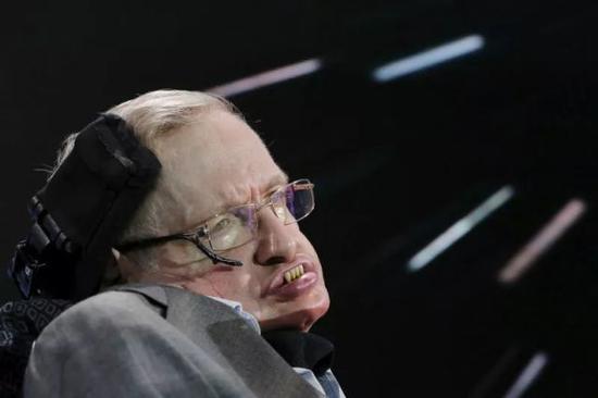 轮椅上的霍金