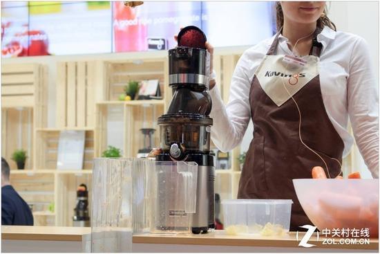 榨汁机、料理机欧美家庭非常普及