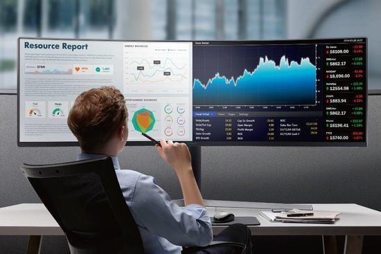 三星显示器CHG90带来高效办公体验