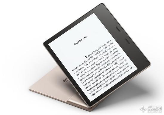 电纸书也要高颜值 亚马逊推Kindle Oasis香槟金版本