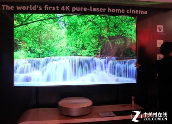 全球首款家用三色4K激光影院