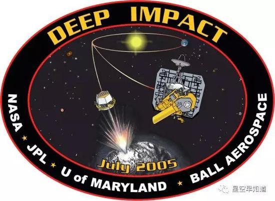 """""""深度撞击""""探量观测规划担任的工作微机出处:NASA"""