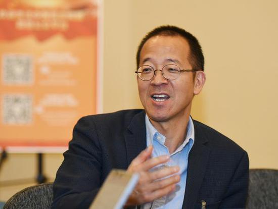 全国政协委员、新东方教育科技集团董事长俞敏洪。视觉中国 图