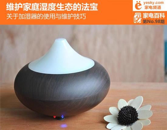 合理湿度有益健康 关于加湿器使用与维护技巧