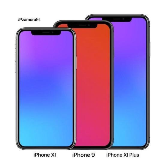 明年的三款iPhone