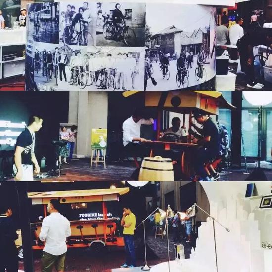 700Bike自行车发布会,2015年7月19日,拍摄:周超臣