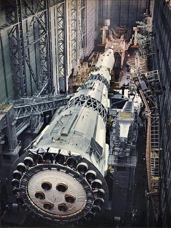 图丨苏联 N-1 火箭