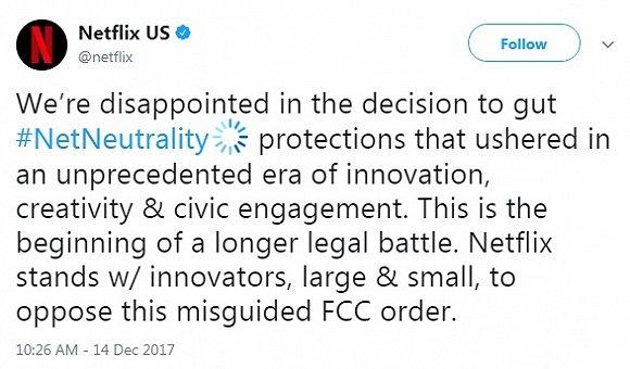 """美国刚废除了一项规定 惹得网民高呼""""互联网已死"""""""