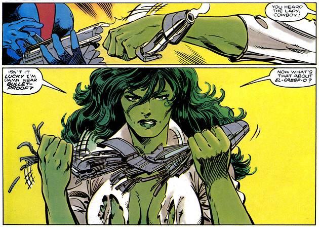 女版绿巨人