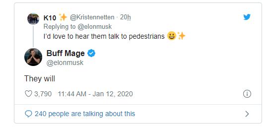 马斯克发布新视频:特斯拉汽车不