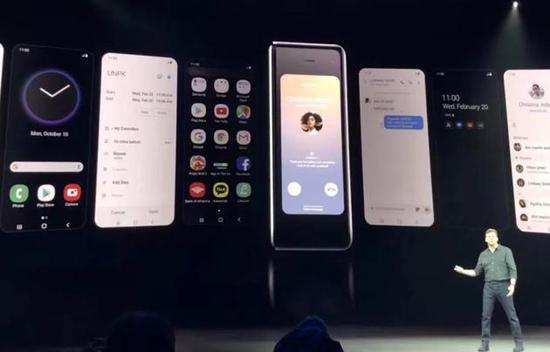 三星折叠屏手机Galaxy Fold 21日发布,定价约合人民币1.34万元
