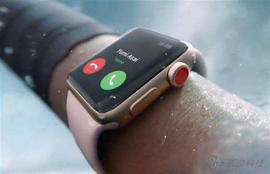 支持eSIM技术的Apple Watch