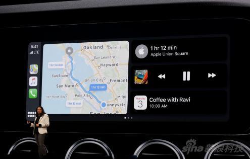 CarPlay也能分屏顯示