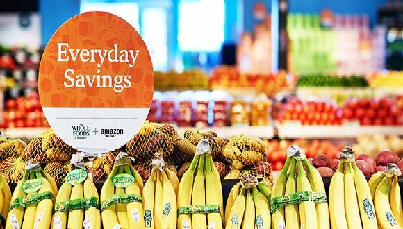 全食超市加速与亚马逊整合