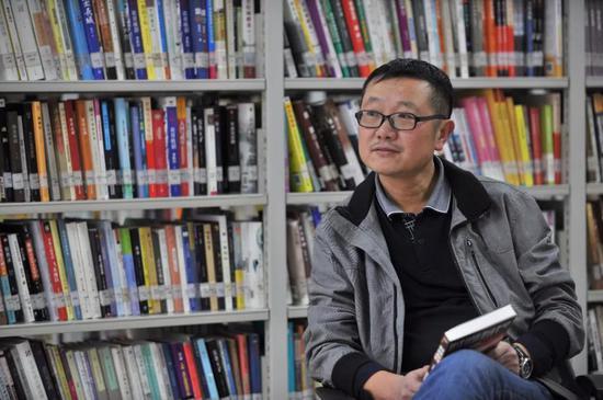 科幻作家、《三體》作者劉慈欣