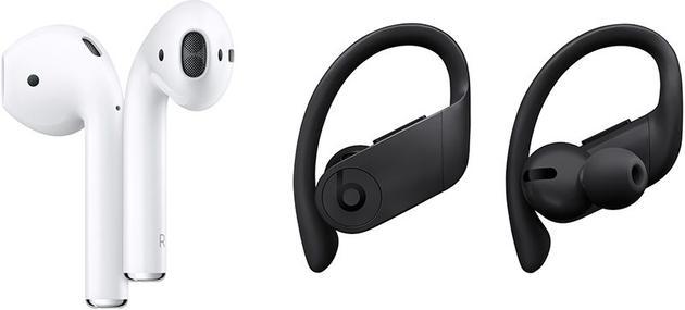 两款耳机设计上是有区别的