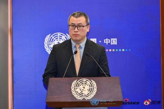 邓庆旭:与联合国强化合作是移动互联时代的需要