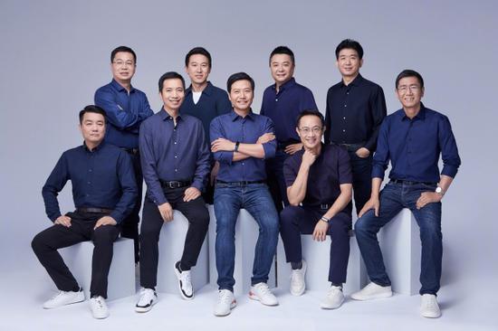 雷军:王翔、周受资、张峰和卢伟冰等四位高管成为小米合伙人