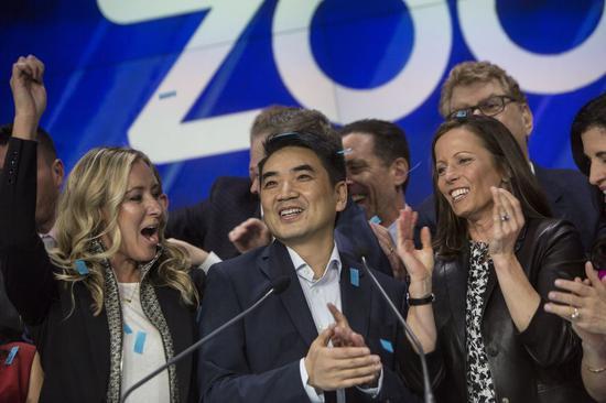 Zoom股价盘后大涨26% CEO袁征资产增加42亿美元
