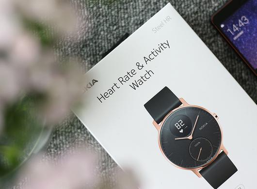 诺基亚Steel HR智能手表图赏
