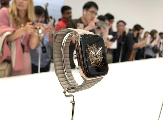 Apple Watch Series 4现场图赏