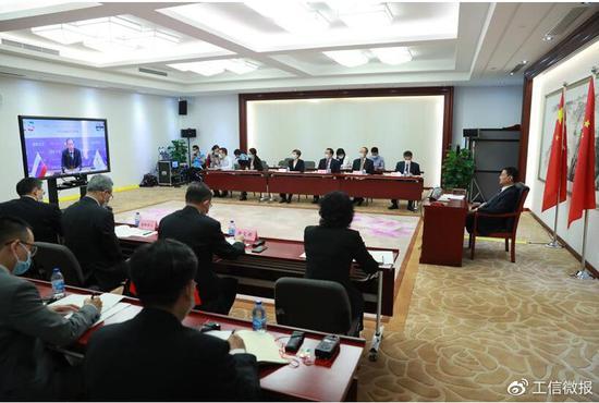 工信部部长肖亚庆:加强5G、人工智能、数字经济等领域合作