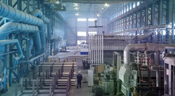 铝金属生产工厂