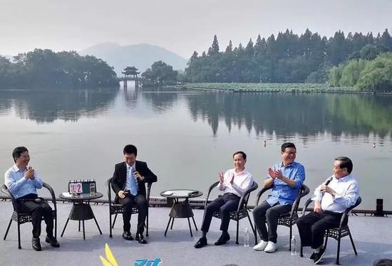 杭州书记跟阿里张勇、网易丁磊在西湖边热聊 谈了啥