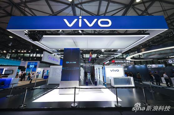 MWC19上海 vivo展台